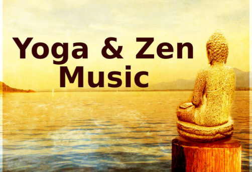 yin yoga event with live music
