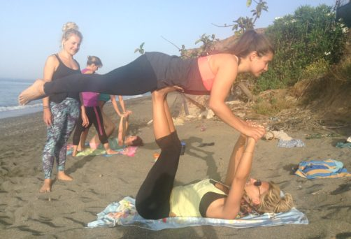 Vinyasa fun retreat – South of Spain